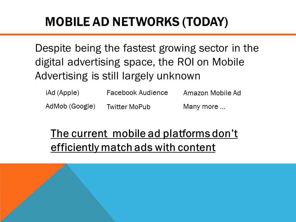 Mobile ad network today